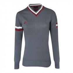 Damen Club - Pullover - Grau