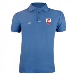 Herren Logo Poloshirt - Blau