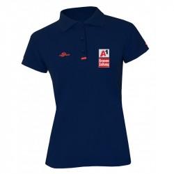 Damen Logo Poloshirt -...
