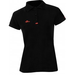 Damen Poloshirt - Schwarz