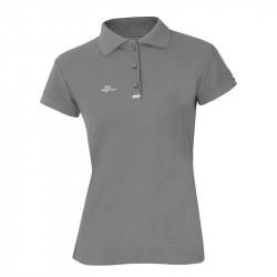 Damen Poloshirt - Grau