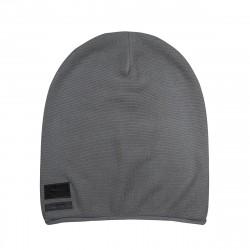Beanie Fancy Knit - Grau
