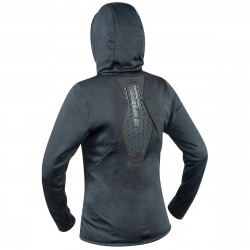 FULL ZIP HOODY SHIRT WOMEN
