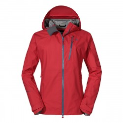 3L Jacke Annapolis2 - Rot