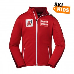 Fleece Jacke Warth K RT - Rot