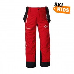 Stretchpants Zip1 K RT - Rot