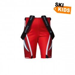 Kinder Race Shorts2 K RT - Rot