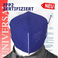 Zertifizierte, bunte FFP2...