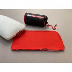 Jerseybezug Reisekissen - Rot