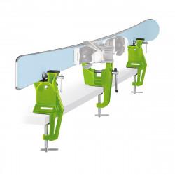 Skispanner Vise RACING - Grün