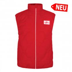 Herren Gilet Ski Austria - Rot