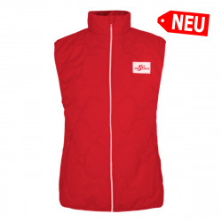 Damen Gilet Ski Austria - Rot