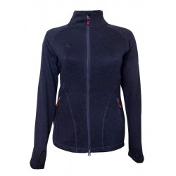 Damen Strick-Fleecejacke...